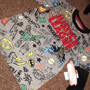 Justice league long sleeve